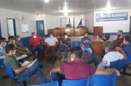 Vereadores se reúnem para discutir a criação do Serviço de Inspeção Municipal em Jangada e sua regularização